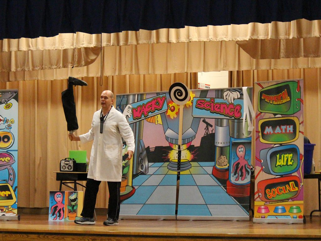 Wacky Science School Assembly Show 1