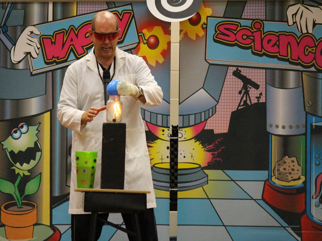 Wacky Science School Assembly Show