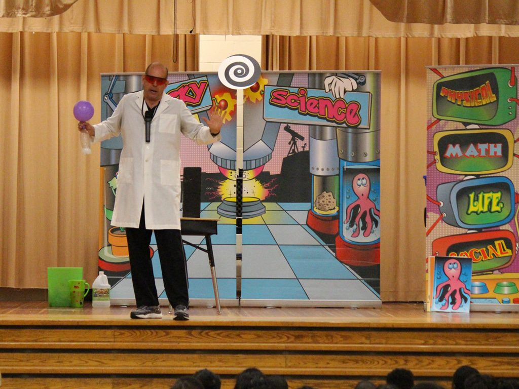 Wacky Science School Assembly Show 4