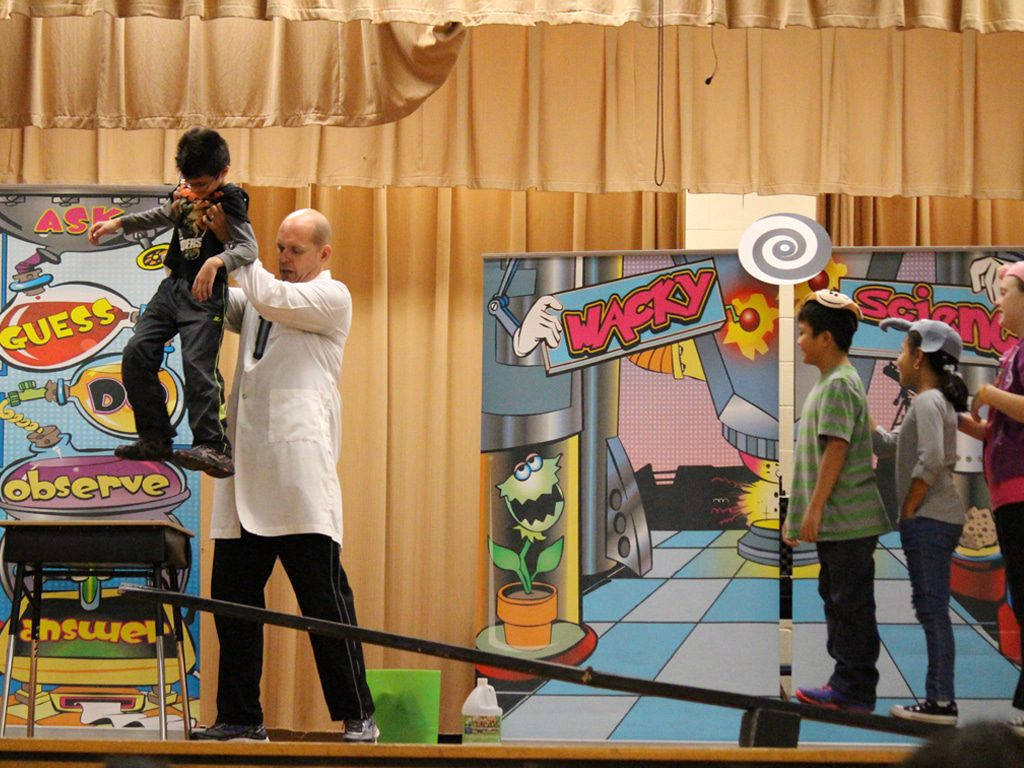 Wacky Science School Assembly Show 7