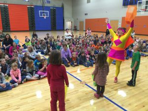 Superhero Math School Assembly Show