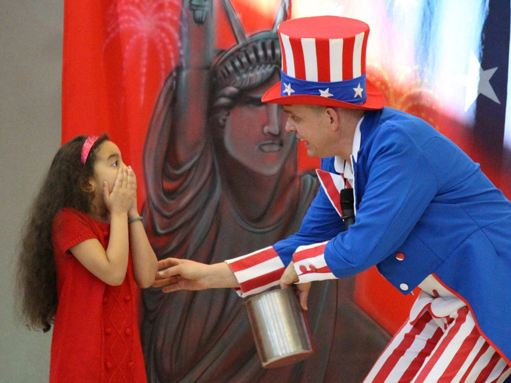 Uncle Sam American History School Show 3