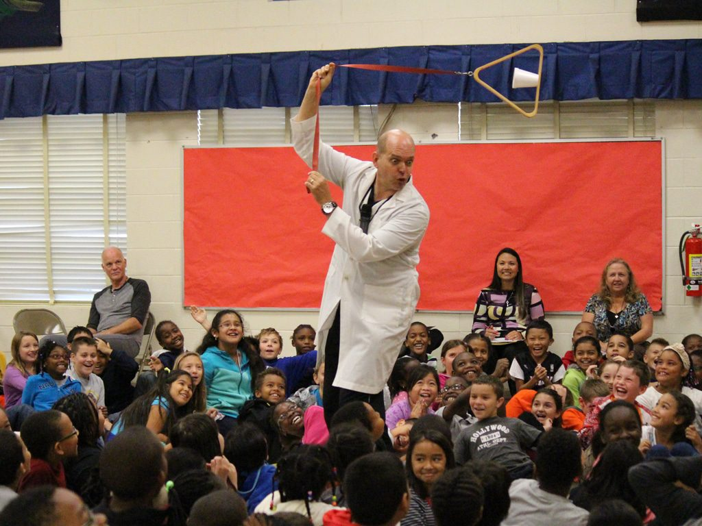Wacky Science School Assembly Show 3