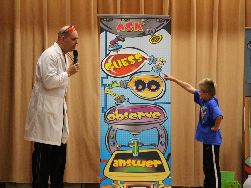 Wacky Science School Assembly Show 6