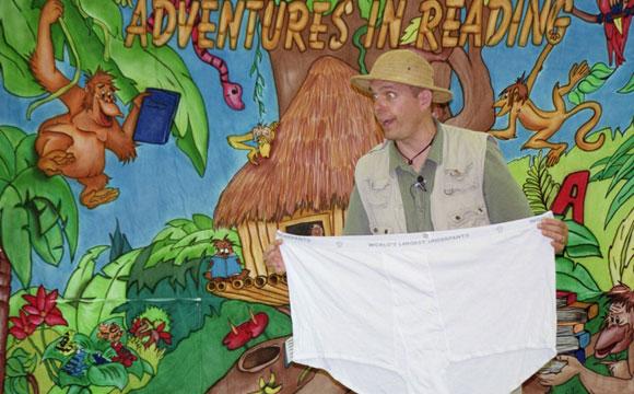 reading adventure show