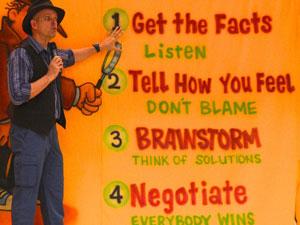 problem solving show for schools