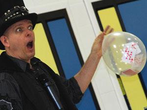 Doug Scheer green school speaker