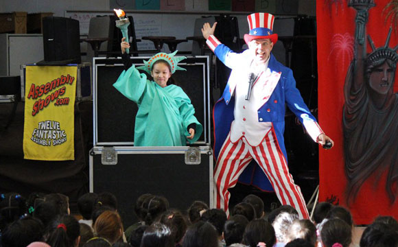 best history school assembly show