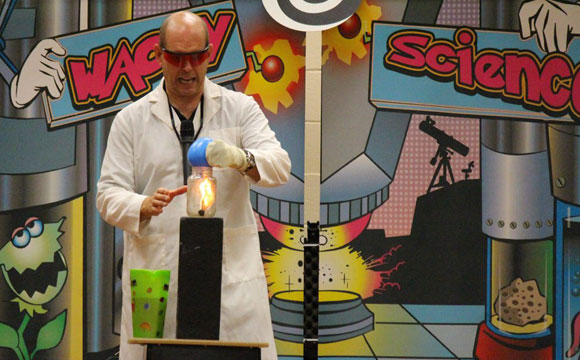 Wacky Science - elementary science shows for kids