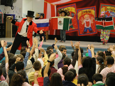 elementary school diversity assembly